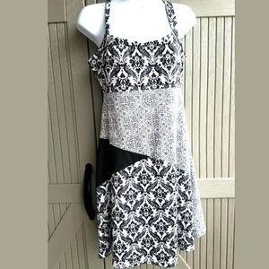 LOLA  Cute Empire Waist Summer DRESS sz M